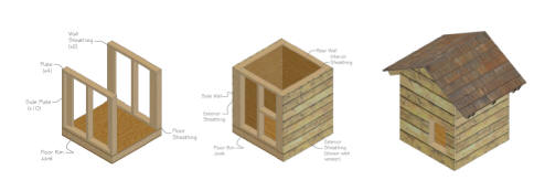 DIY Simple Dog House Plans Wooden PDF king platform bed